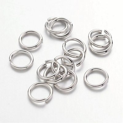 Jump Rings Silver Plated