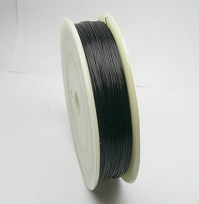 Black Copper Wire Spool (0.2mm) 12