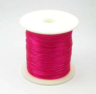 1 Crystal Wire Spool (30m) - Dark Pink 9