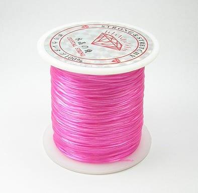 1 Crystal Elastic Wire Spool (30m) - Pink 5