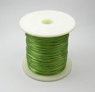 1 Crystal Elastic Wire Spool (30m) - Olivine 4