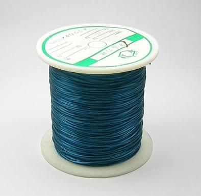 1 Crystal Elastic Wire Spool (30m) - Teal 6