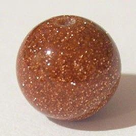 Goldstone Gemstones Strand (8mm) 9