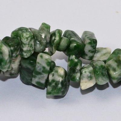Jadeite Chip stones Strand (90cm) 17