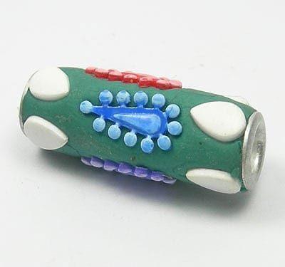 Kashmiri Bead - Model04 (10mm X 25mm) 4