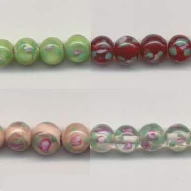 Lampwork Glass Beads In Four Colours (8mm)!!! 3