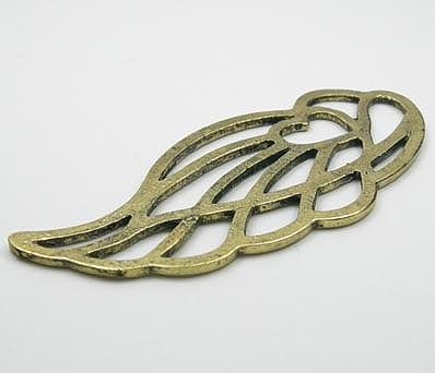 Spring Leaf Metal Pendant 10