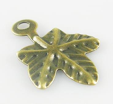 10 Light Weight New Bronze Pendant - (14mmx10mm) 16
