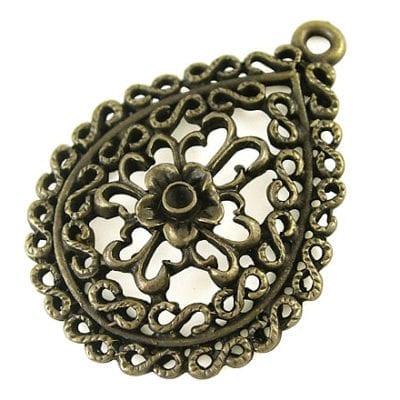 New Look Gorgeous Bronze Pendant (35mmx25mm) - M14 7