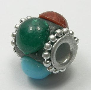 Kashmiri Bead - Model14 (12mm X 12mm) 4