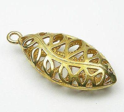 1 Copper Mesh Charm Pendant - Antique Look 11