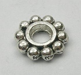 New Design Round Spacer Metal Bead (7mm) - M20 10