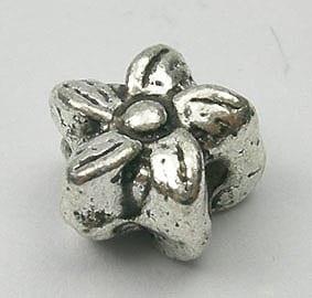 Star Shape Metal Bead (6mmx4mm) - M27 1