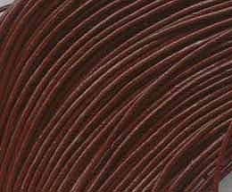 1 Meter Brown Leather Chord For Jewellery Making - (1mm) 4