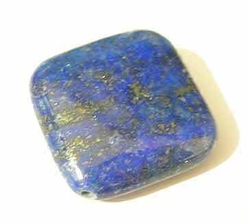 Great Value Lapis Lazuli Square Gemstone Beads (20mm) 4