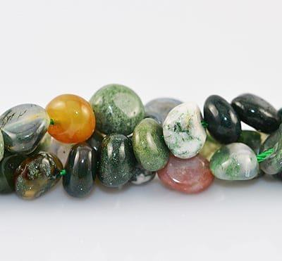 Assorted Gemstone Beads Model 7 - (9mm) 9