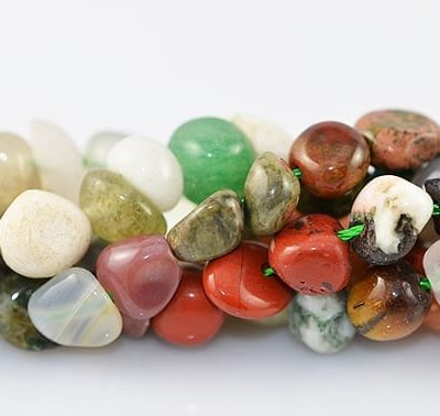 Assorted Gemstone Beads Model 3 - (5mm~10mm) 6