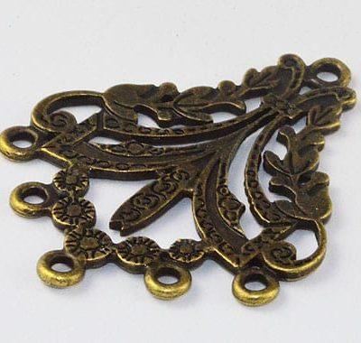 Magnificent Light Weight Bronze Metal Pendant - (37mmx30mm) 1