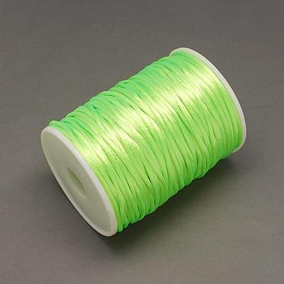 3 Meters Neon Green Nylon Thread - (2mm) 12