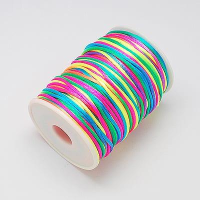 3 Meters Rainbow Coloured Nylon Wire - (2mm) 14