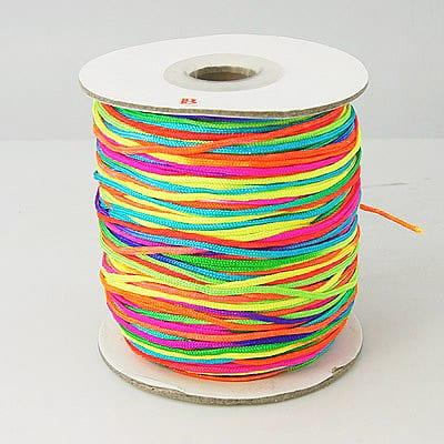 3 Meters Neon Rainbow Coloured Nylon Wire - (1.5mm) 13