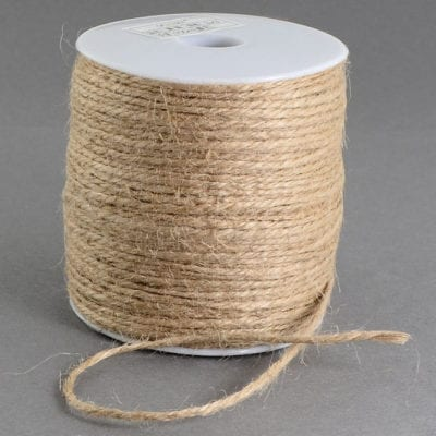 3 Meters Light Brown Natural Hemp String Cord - (2mm) 6