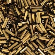 "3"" Dark Gold Bugle Glass Seed Beads - (10 grams) 4"