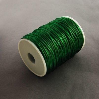 3 Meters Dark Green Nylon Thread - (2mm) 7