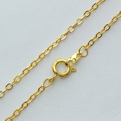 Brass High Quality Gold Complete Metal Chain - (45cm) 1