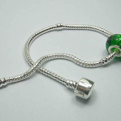 Bracelet Snake Chain Fits European Beads (18cm) 6