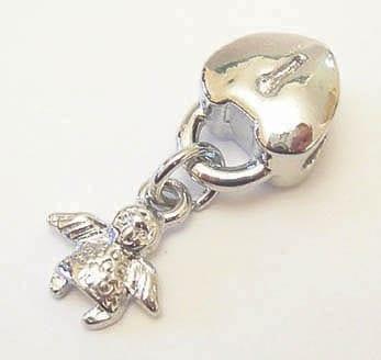 1 X European Style Heart Lock & Fairy Charm (Model 04) 7