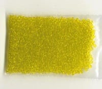 12'0 Light Yellow Round Glass Seed Beads - (10 grams) 7