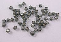 12'0 Lustre Grey Glass Seed Beads - (10 grams Pack) 6