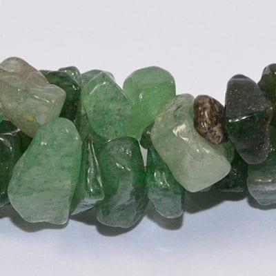 Green Quartz Chip Stone Strand (90cm) 14
