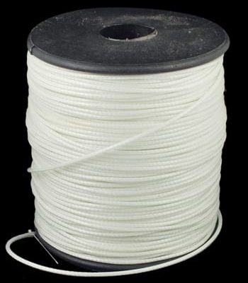 2 Meter Warm White Cotton Waxed Wire (1mm) 14