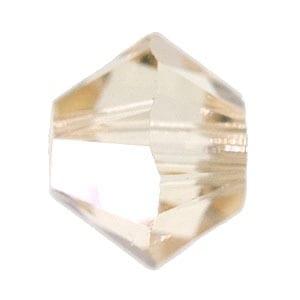 Ceylon Topaz Swarovski Bicone Crystal Beads (5301) - 6mm 4