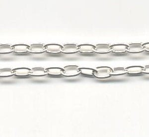 Silver Chain (1meter) - Model 06 (5mm) 18