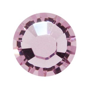 100 Light Amethyst Swarovski Rhinestone Glue-on Crystals (SS9) 3