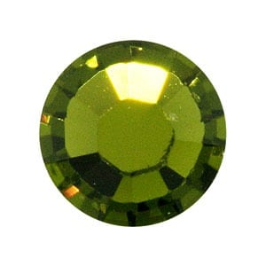 100 Olivine Swarovski Rhinestone Glue-on Crystals (SS9) 6