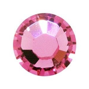 100 Rose Swarovski Rhinestone Glue-on Crystals (SS9) 5