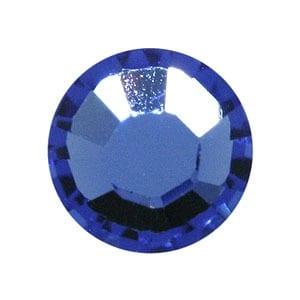 100 Sapphire Swarovski Rhinestone Glue-on Crystals (SS9) 7