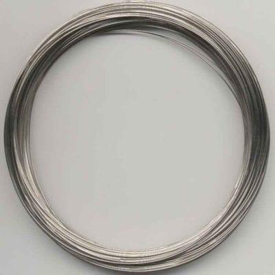 5 Coils Memory Wire - Necklace (11cm Diameter) 3