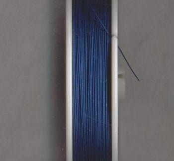 100 Meters Tiger Tail Wire spool - Royal Blue (0.38) 12