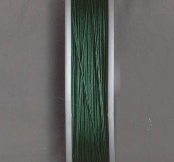 100 Meters Tiger Tail Wire spool - Hunter Green (0.38) 2