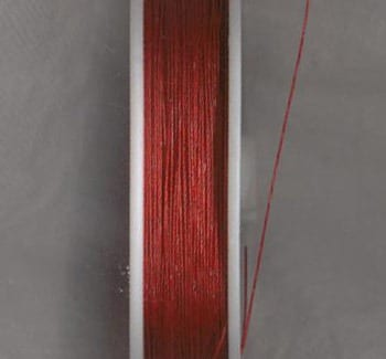 100 Meters Tiger Tail Wire spool - Red (0.38) 10