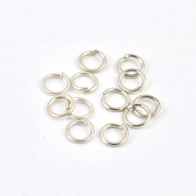 Silver Plated Jump Rings - 7mm