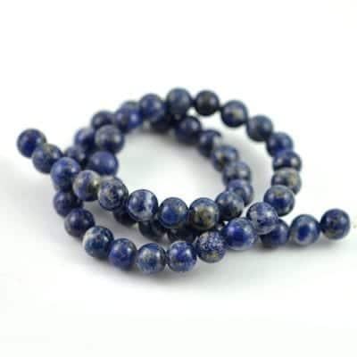 Lapis Lazuli Gemstones Beads Strand (8mm) 13