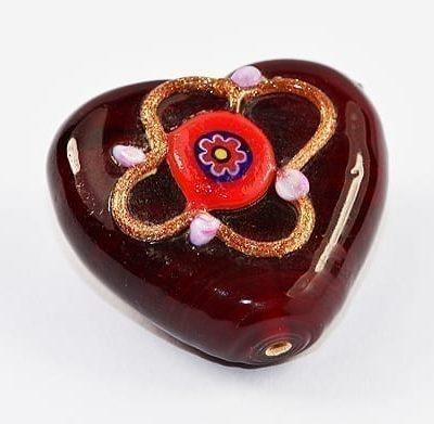 Lampwork Beads - Heart