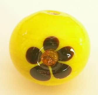 Lampwork Beads - Zirconia Studded