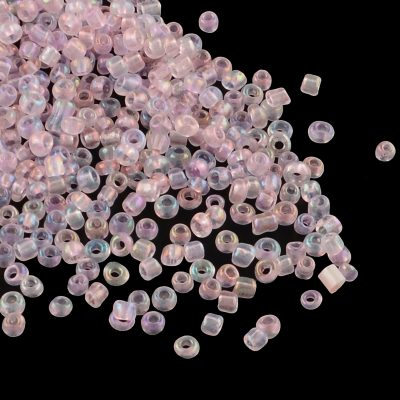 Light Pink Lustre Seed Beads Size 12-0